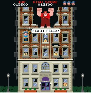 8-bit Wreck-It Ralph game